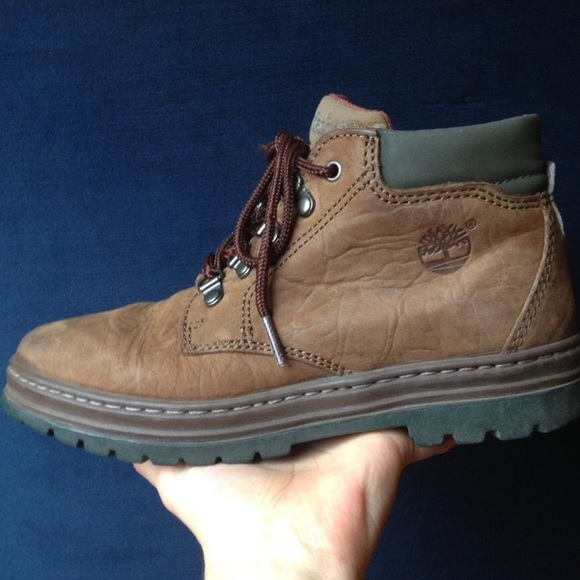 5ccee6839e59d || vintage || Timberland Hiking Boots